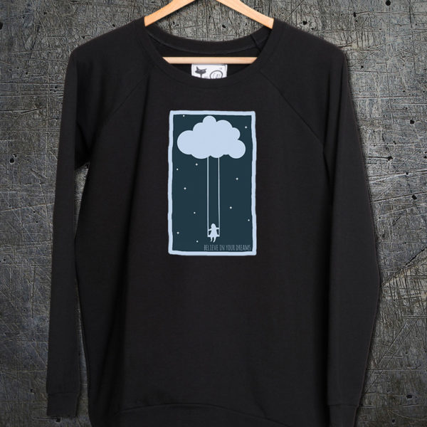 majica dugi rukavi sweatshirt cloud swing