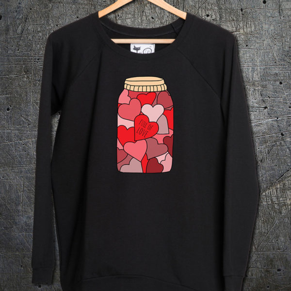 majica dugi rukavi sweatshirt full of love