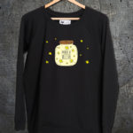majica dugi rukavi sweatshirt make a wish