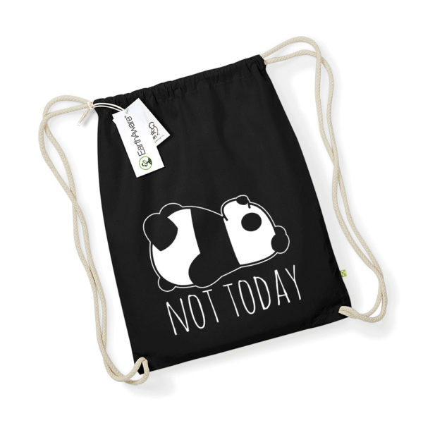 Vreća Ruksak - Not Today Panda